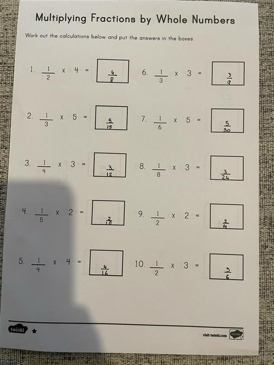 Laycee B - Maths