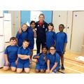 Change 4 Life champions meet Shona McCallin MBE