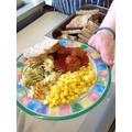 Quorn Meatballs and pasta 06 02 18