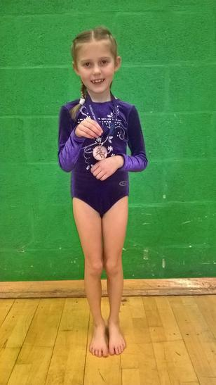 An amazing routine earning a  BRONZE MEDAL!