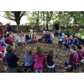Our first Year 1 Forest School!