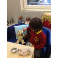 We learnt about Goldilocks and the Three Bears