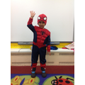 we dressed up as our favourite super heroes!