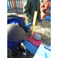How big is this egg? Let's measure it!