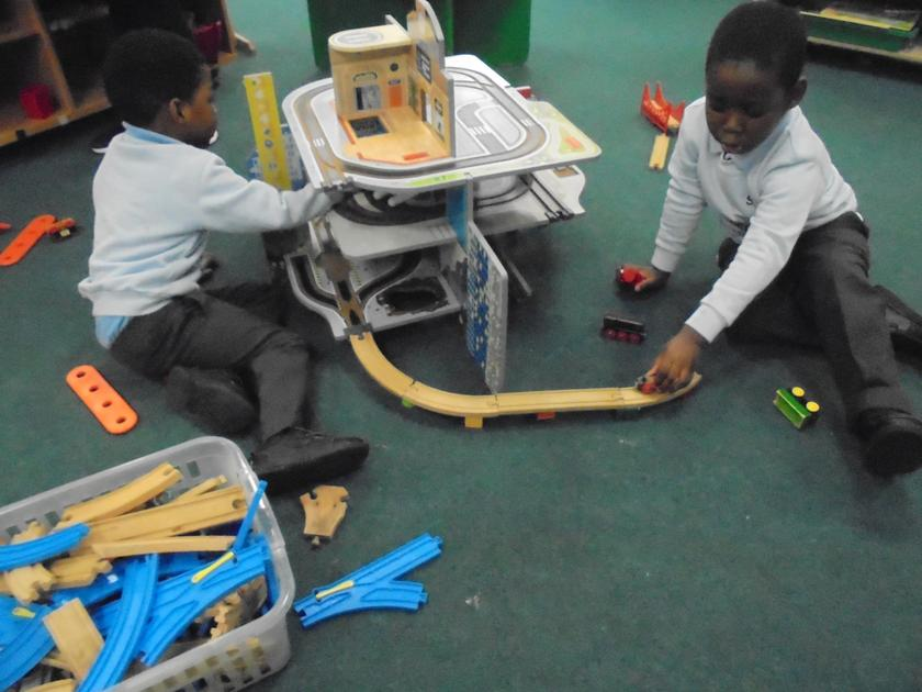 Working together to make a road