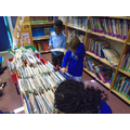 Visiting the our school library.