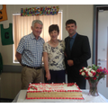 Mr Fitzpatrick, Mrs Trainor & Mr Dinsmore