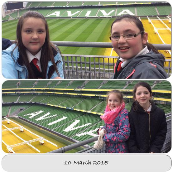 At the home of Irish Rugby
