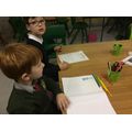 Our comic strip writers at work