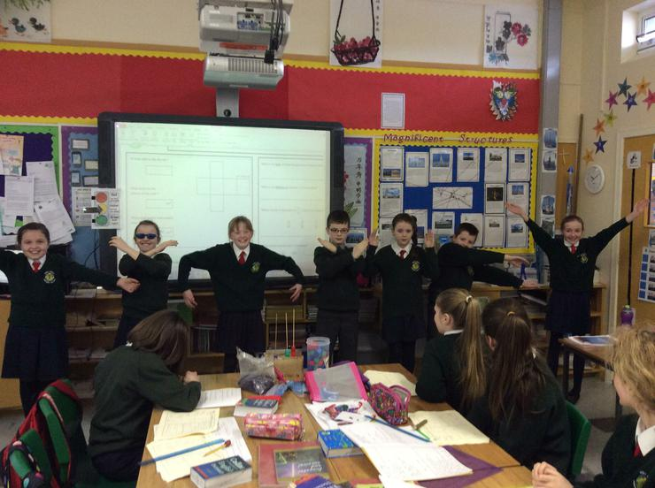 Dramatising the formula for calculating volume
