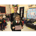 P4/5 - Miss Malone with Mollie