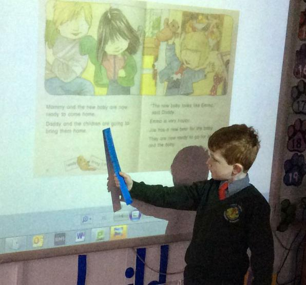 P.2 exploring a text for high frequency words