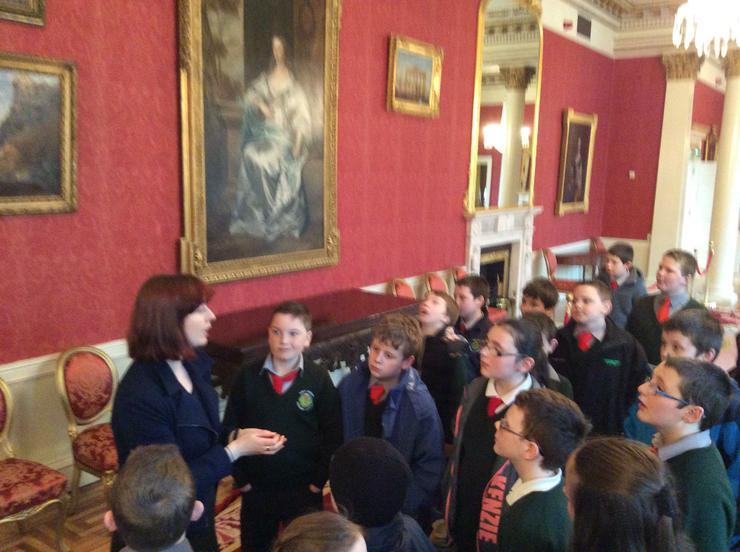 Guided tour inside Dublin Castle
