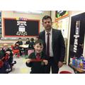 Principal's Award P3 Conor