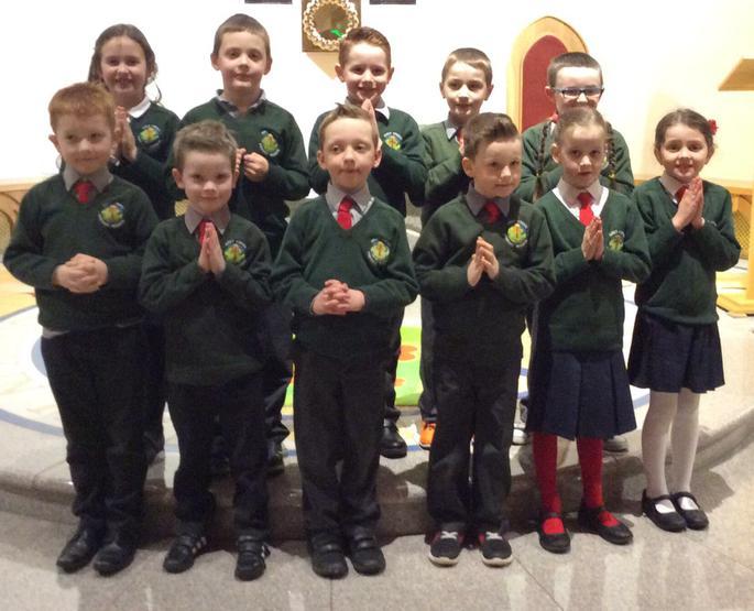 Primary 3 first Penance celebration