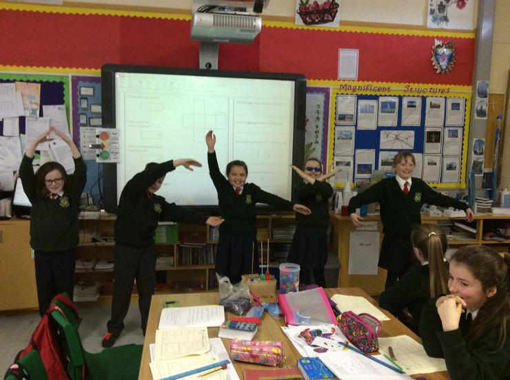 Dramatising the formula for calculating Area
