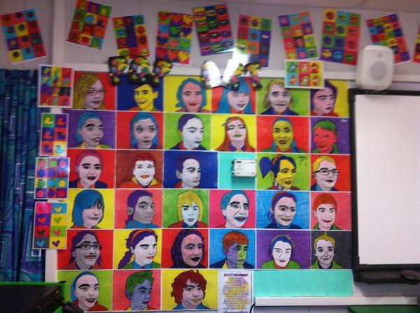Pop Art - Class 7