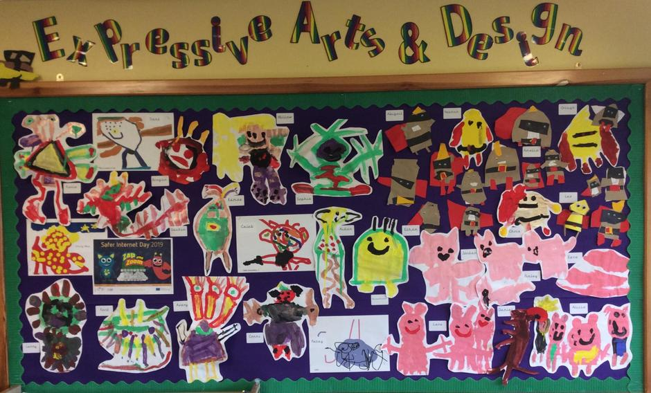 Expressive Artwork - Reception - Miss Duong 2019