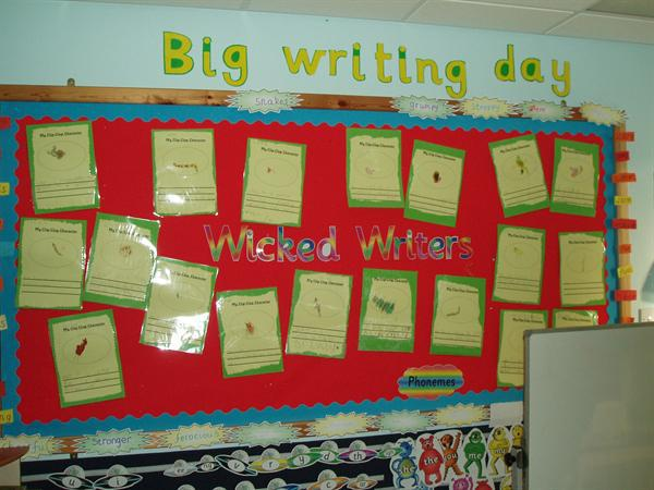 Big Writing Day - Class 1