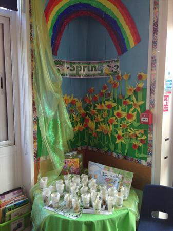 Growing seeds in the Spring - Class 2
