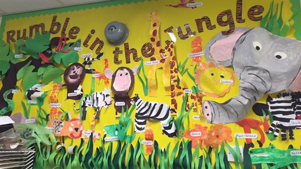 Jumble in the Jungle - Class 2