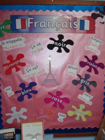 French Colours - Class 4