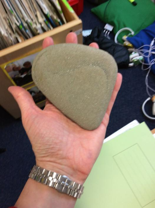 Next we will decorate stones