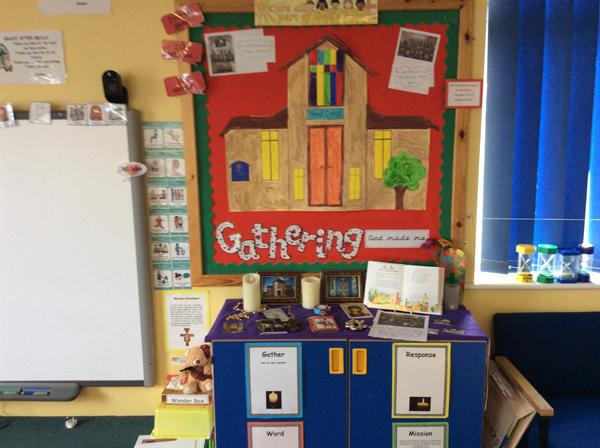 Our school displays - Lent