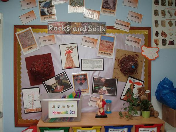 Rocks and Soil - Class 4