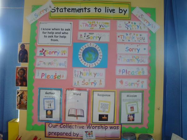 Statments to live by - Class 1