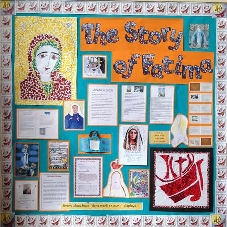 Whole school homework for The Story of Fatima
