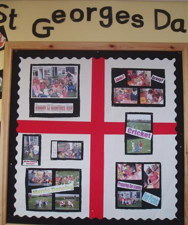 St Georges Day celebrations - Class 1