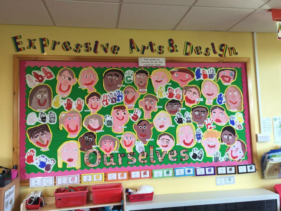 Ourselves - Self-portraits - Class 1