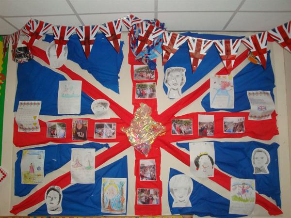 Queen's Diamond Jubilee Display - 2012