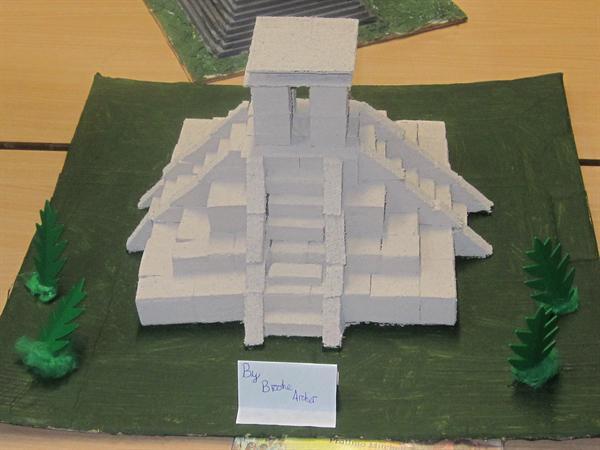 Our Mayan Pyramids!