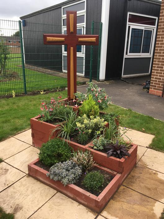 School front garden