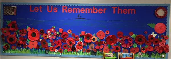 Remembrance Day-Infant Library-classes 1, 2 and 3
