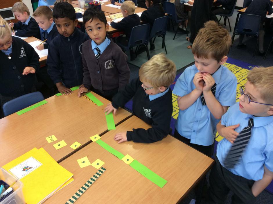 Building sentences.