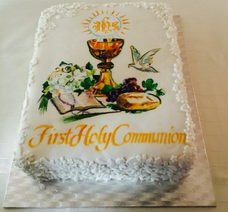1st Holy Communion cake 2017