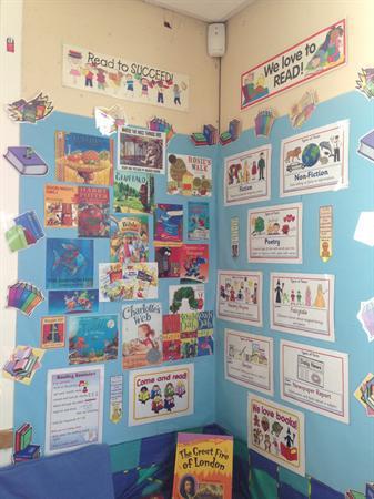 Reading area - Class 3