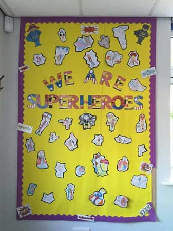 We are Superheroes - Class 5