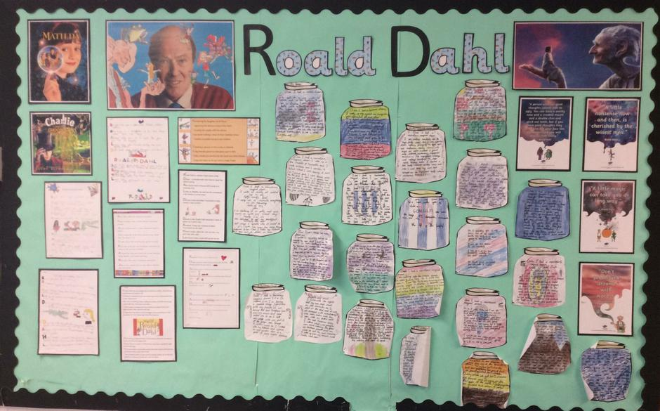 Roald Dahl - Class 6 - Mrs Sansom and Mrs Simpson