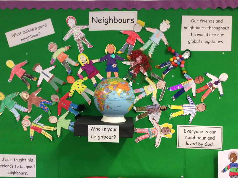 Come and See - Neighbours- Class 1 Mrs Bruce 2019