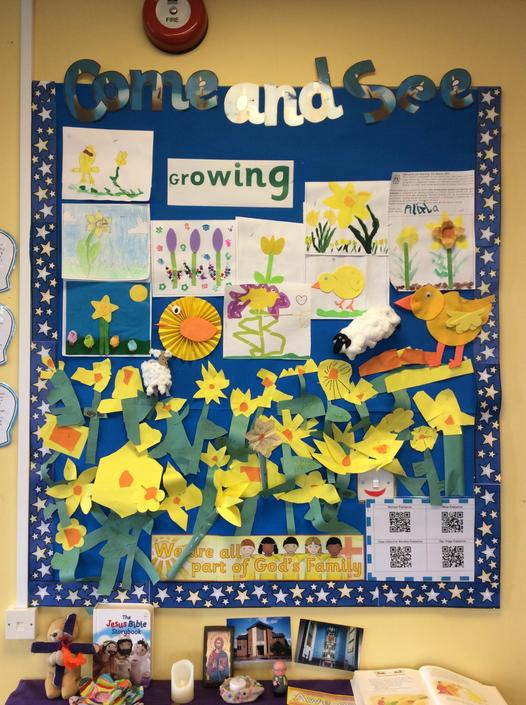 Come and See - Growing - Reception-Miss Duong 2019