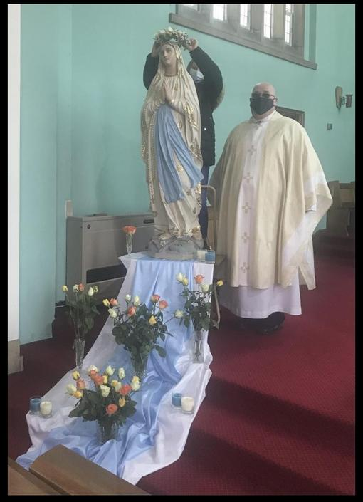May is the month of Our Lady - Holy Cross Church