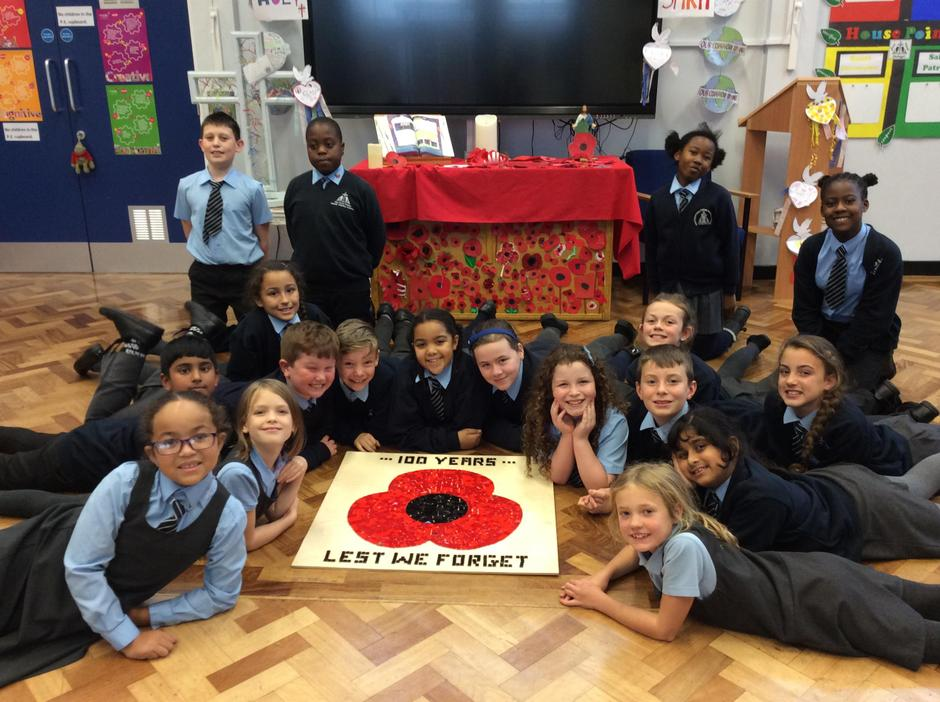Remembrance Centenary 2018-Prayer&Care -Miss Duong