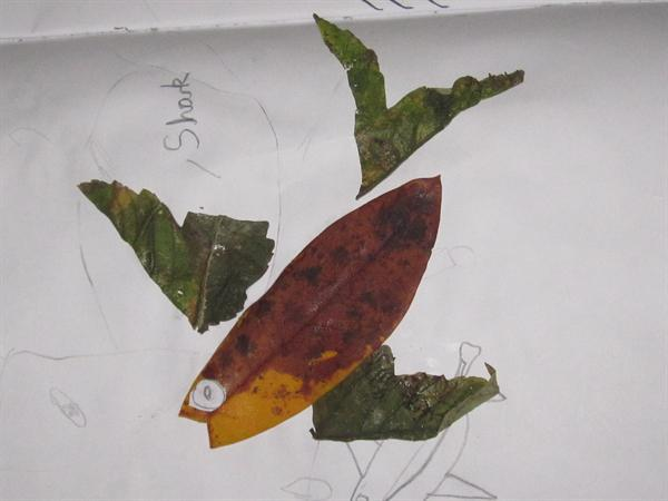 Lovely Leaf Art