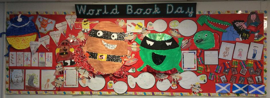 World Book Day 2017 - Infant Library