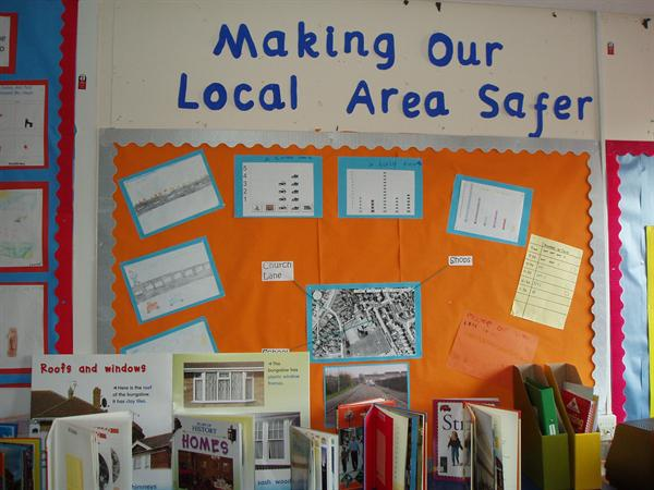 Making our local area safer. - Class 2