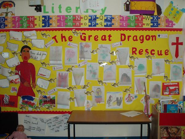 The Great Dragon Rescue. - Class 2